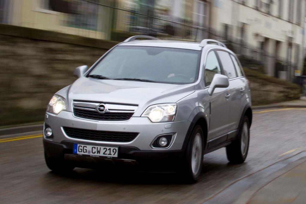 Der Opel Antara ist baugleich mit dem Captiva