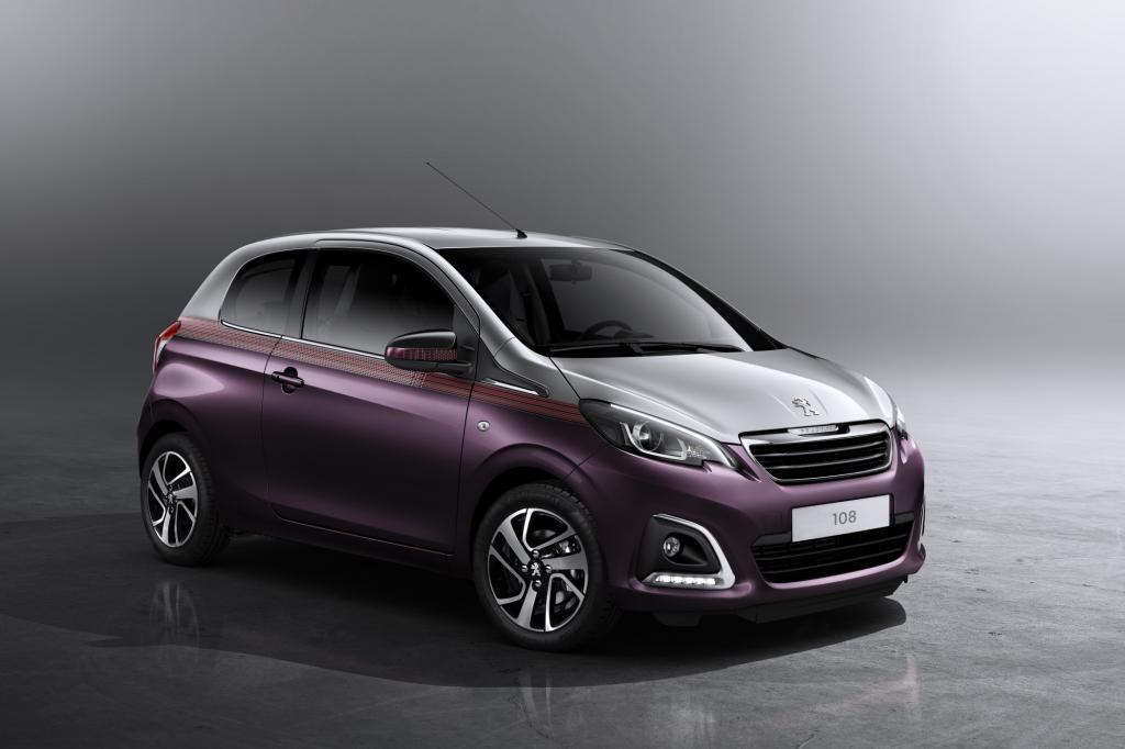 Der Peugeot 107 wird zum 108