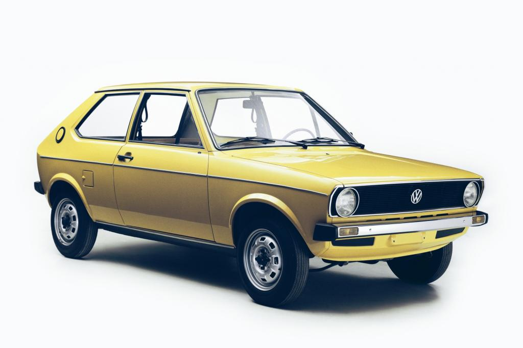 Der VW Polo ist baugleich mit dem Audi 50, war aber etwas karger ausgestattet