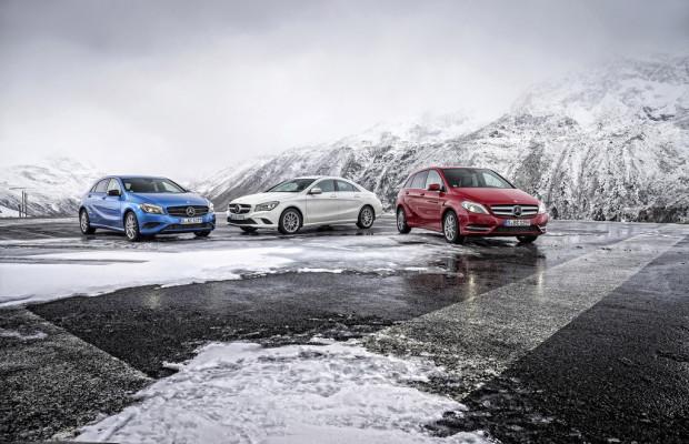 Die Kompakten von Mercedes-Benz werden noch sparsamer
