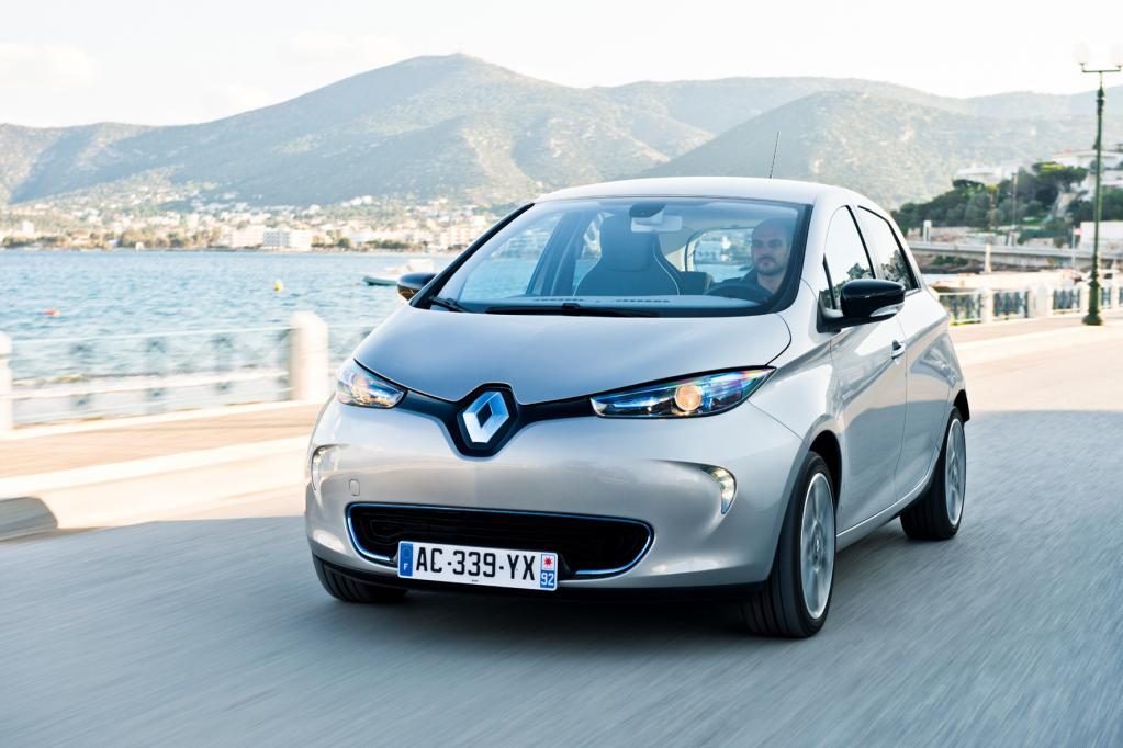 Die meisten Elektroautos fahren in Frankreich