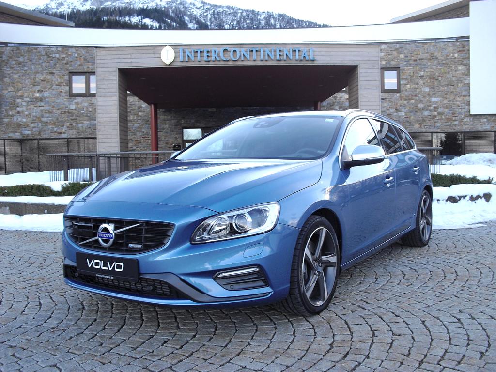 Ebenfalls mit neuen Drive-E-Motoren: Volvo-Kombi V60.