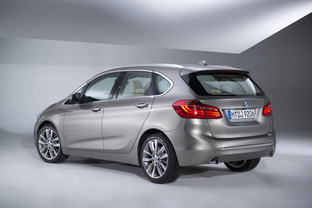 Eine Familienkutsche mit hohem Dach und glattem Boden – das hat es bei BMW noch nie gegeben.