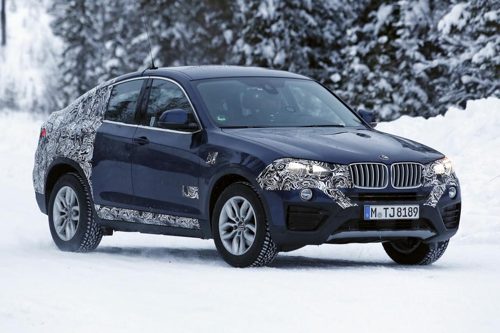 Erwischt: Erlkönig BMW X4