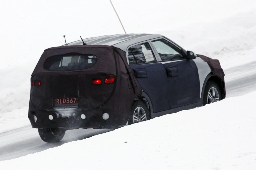 Erwischt: Erlkönig Hyundai iX25
