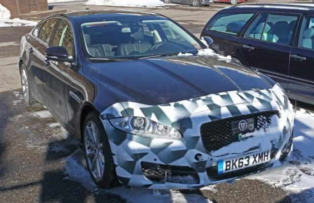 Erwischt: Erlkönig Jaguar XJ Facelift