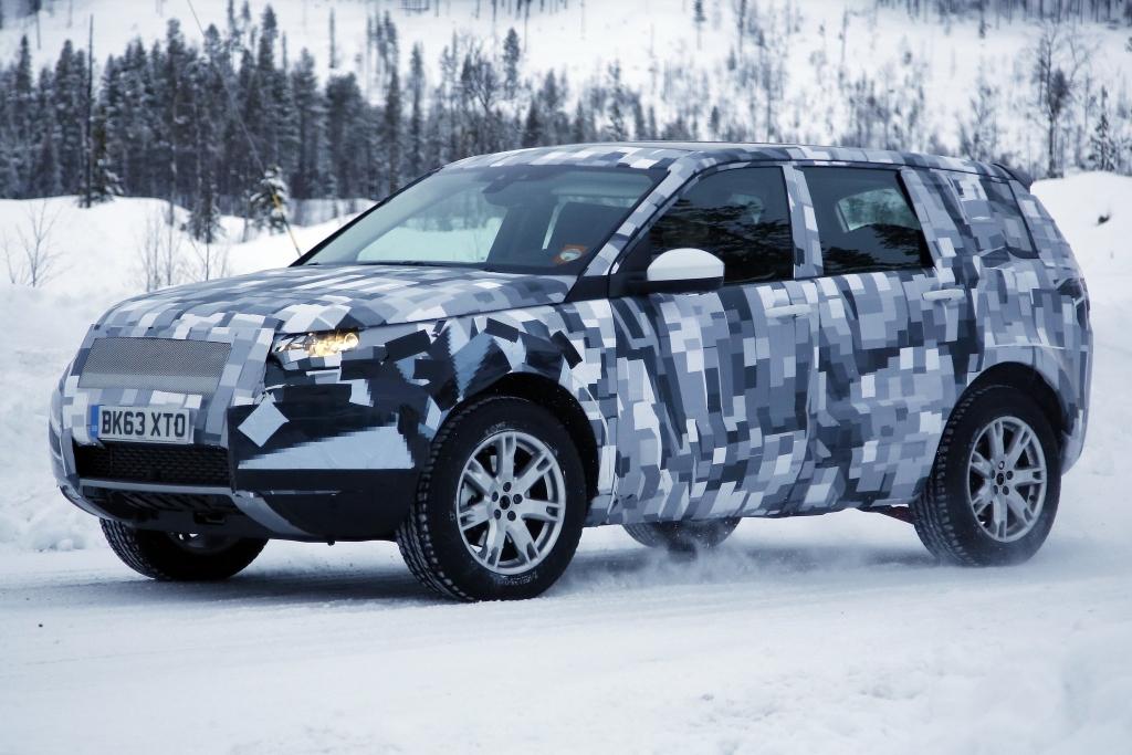 Erwischt: Erlkönig Land Rover Baby Discovery oder Freelander
