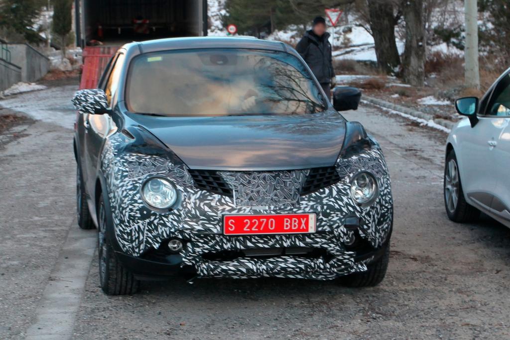Erwischt: Erlkönig Nissan Juke Facelift