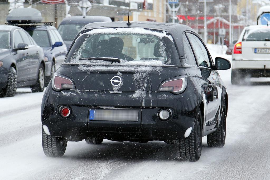Erwischt: Erlkönig Opel Adam Cabrio