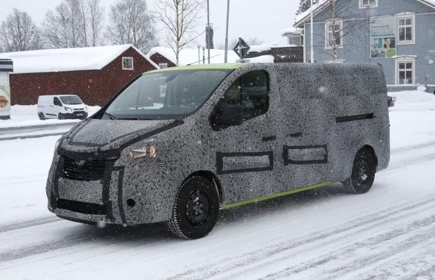 Erwischt: Erlkönig Renault Trafic - Testlauf im Schnee