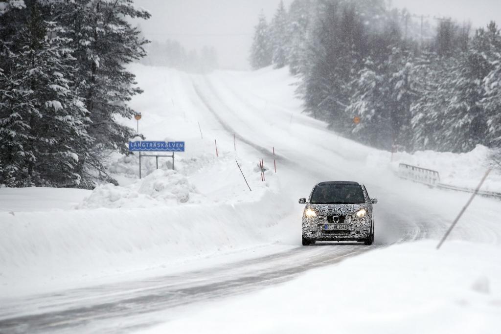 Erwischt: Erlkönig Smart ForTwo im Schnee