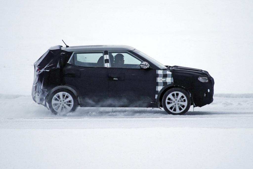Erwischt: Erlkönig SsangYong SUV – Kleiner Crossover aus Korea
