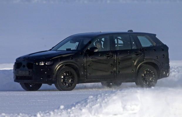Erwischt: Erlkönig Volvo XC90
