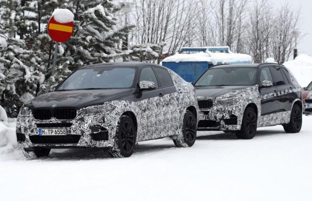 Erwischt: Erlkönige BMW X6 M und BMW X5 M
