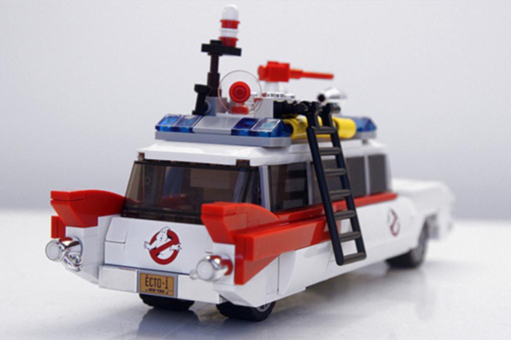 Es ist das Geisterjäger-Mobil Ecto-1