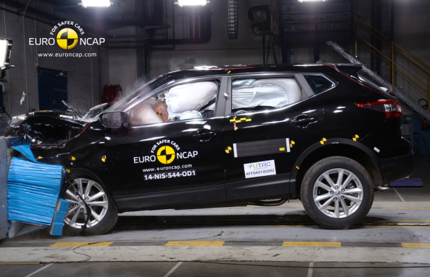 EuroNCAP - Fünf Sterne für Nissan Qashqai