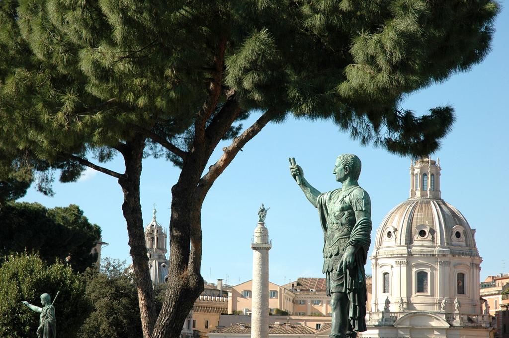 Für Roms Herrscher bedeuteten Straßen ebenfalls Machterweiterung.