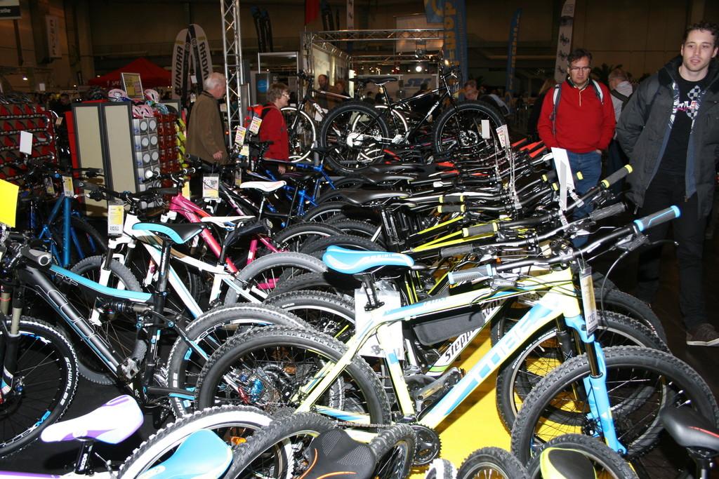 Fahrrad Essen 2014: Rauf aufs Rad