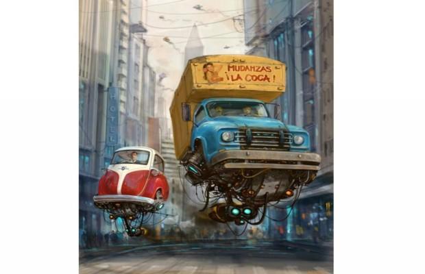 Fliegende Isettas - Die fantastische Welt des Alejandro Burdisio