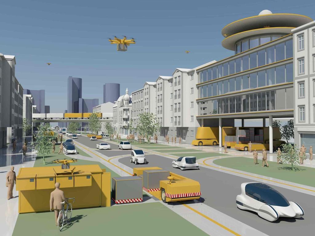 Forschungsprojekt: Transporte ohne Fahrer