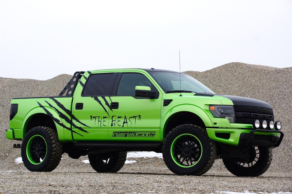 Geiger Ford F-150 Raptor - Giftgrüner Monster-Truck mit mächtig Wumms