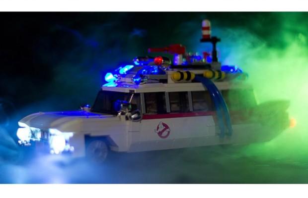 Geisterjäger-Auto von Lego - Der sieht Gespenster
