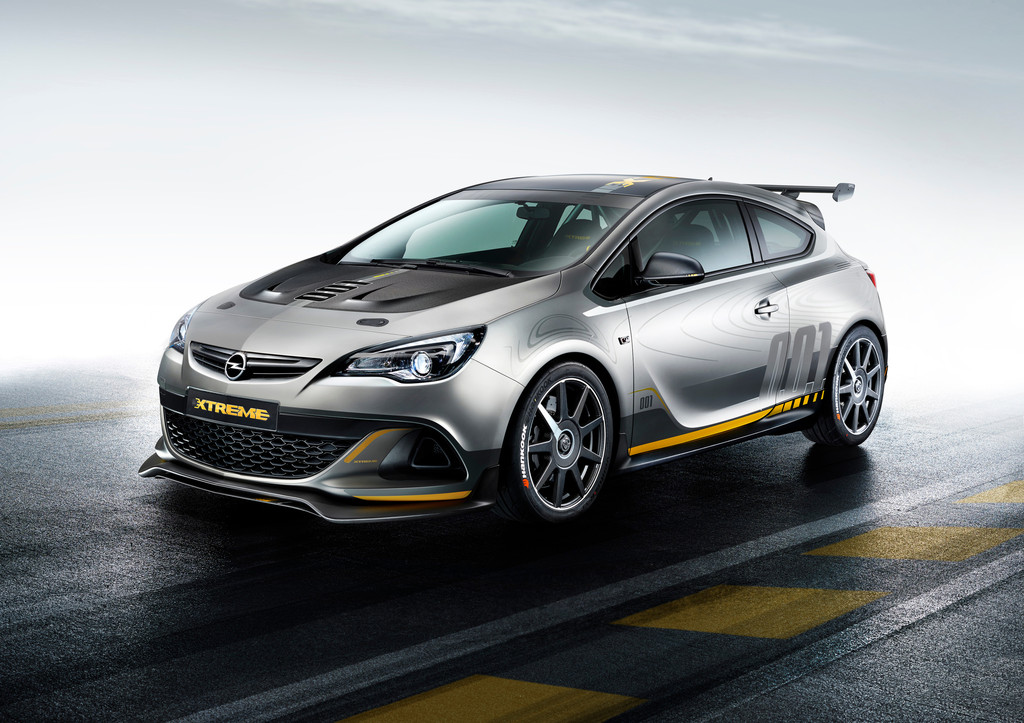Genf 2014: Opel Astra OPC kommt uns extrem