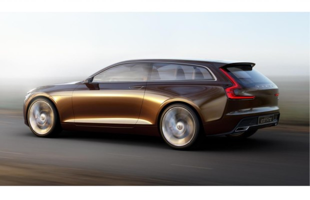 Genf 2014: Volvo Concept Estate - Kombi mit Einblick