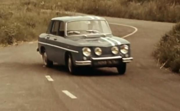 Historische Aufnahmen von Renault R8