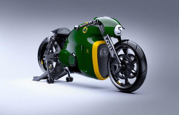Lotus baut 100 Motorräder