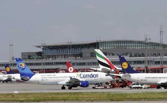 Mehr Passagiere im Luftverkehr
