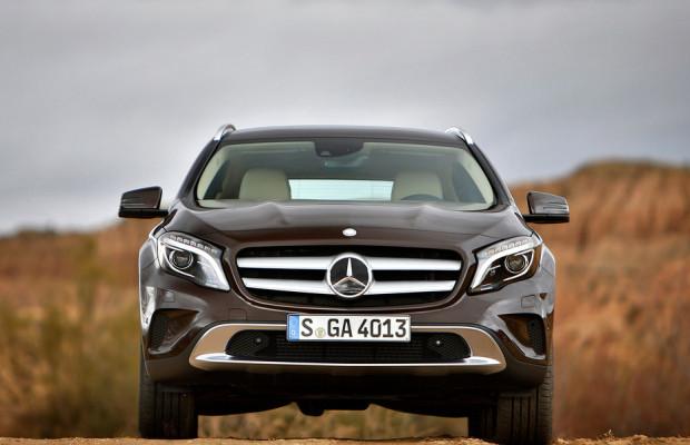 Mercedes-Benz GLA: Ganz schön selbstbewusst