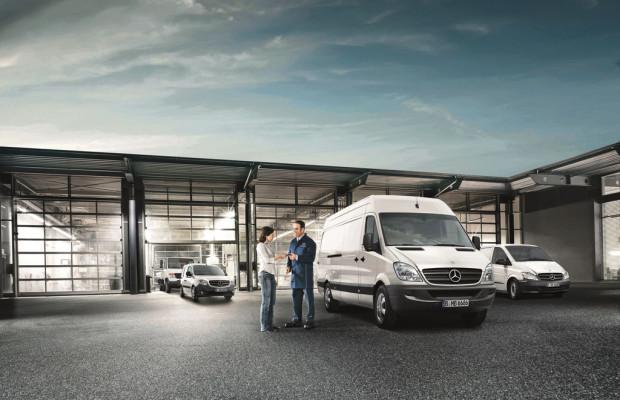 Mercedes-Benz bietet Garantie für gebrauchte Transporter