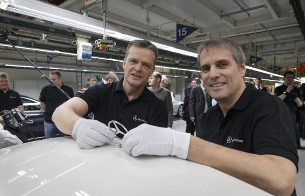 Mercedes-Benz startet Produktion der C-Klasse