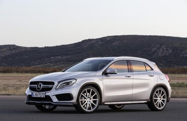 Mercedes GLA 45 AMG setzt neue Rekorde
