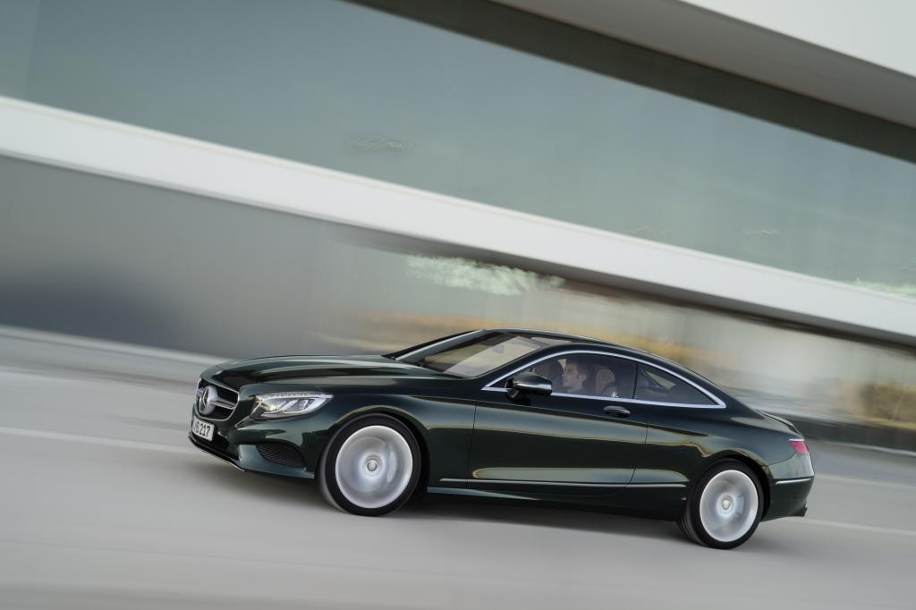 Mercedes hat das S-Klasse Coupé im Gepäck