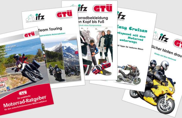 Mit GTÜ-Ratgebern sicher in die Motorradsaison