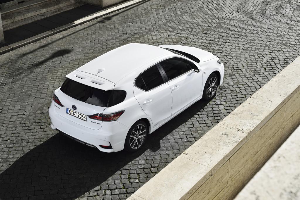 Modellpflege beim Lexus CT 200h