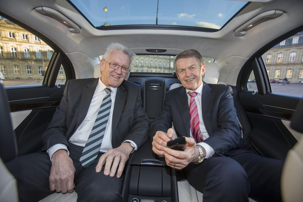 Neuer Dienstwagen für Ministerpräsident Kretschmann