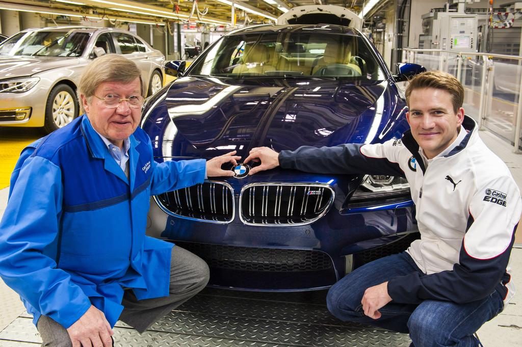 Neunmillionster BMW aus Dingolfing