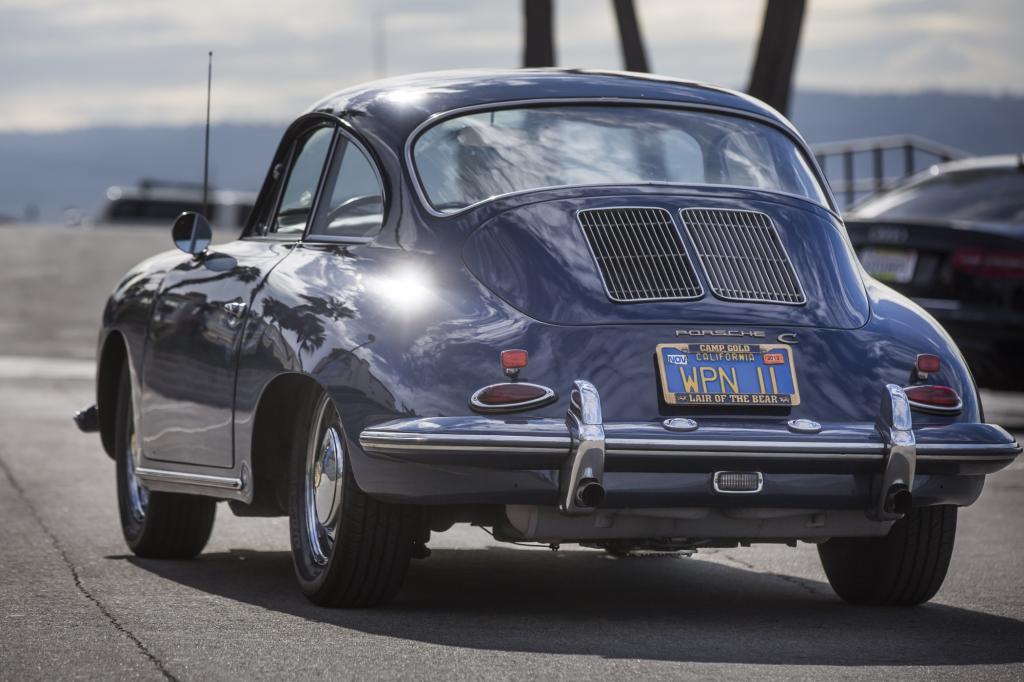 Newmark fährt den womöglich dienstältesten Porsche der Welt