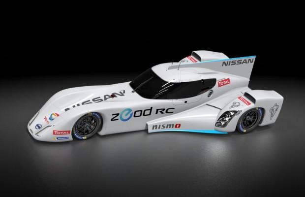Nissan rennt elektrisch in Le Mans