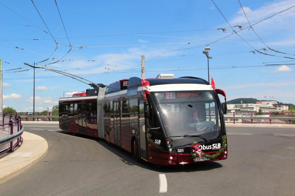 Oberleitungsbusse von Solaris für Spanien