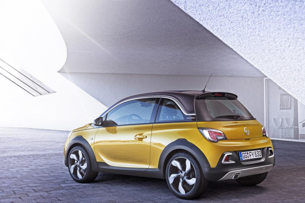 Opel legt den Adam in einer Crossover-Version auf