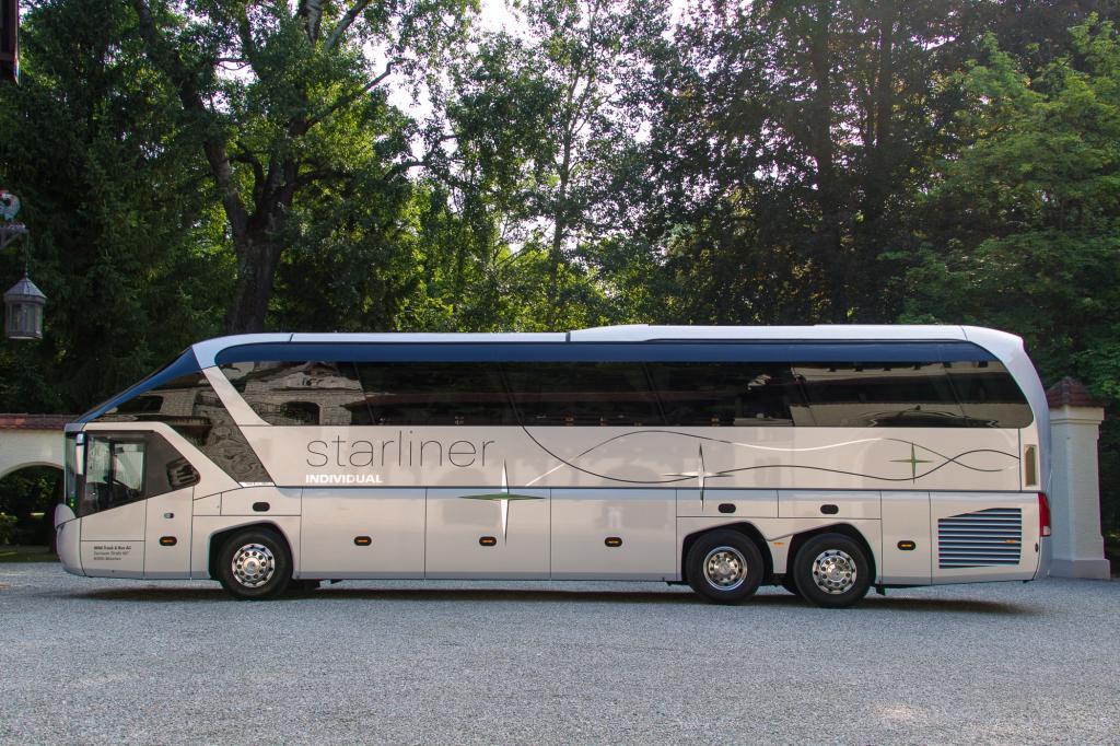 """Panorama: Neoplan Starliner """"Individual"""" - Die längste Limousine der Welt"""