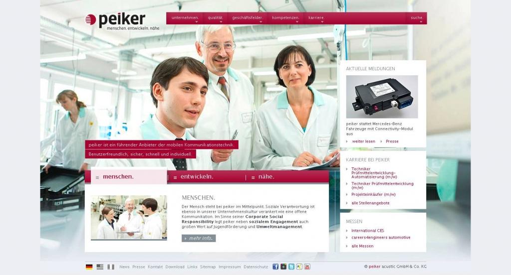 Peiker unterstützt E-Call-Einführung