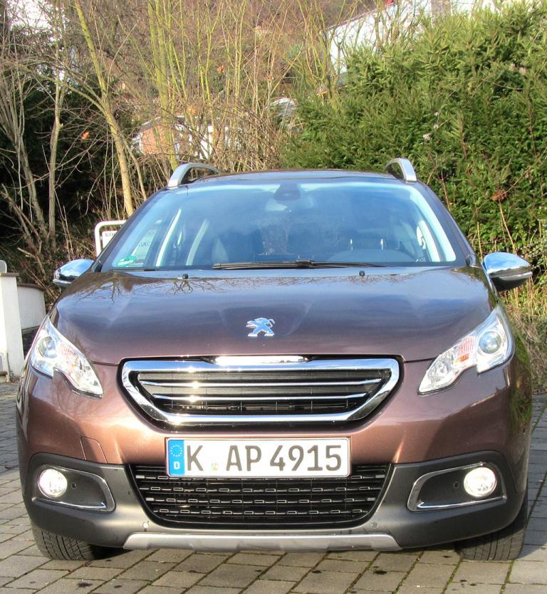 Peugeot 2008: Blick auf die Frontpartie.