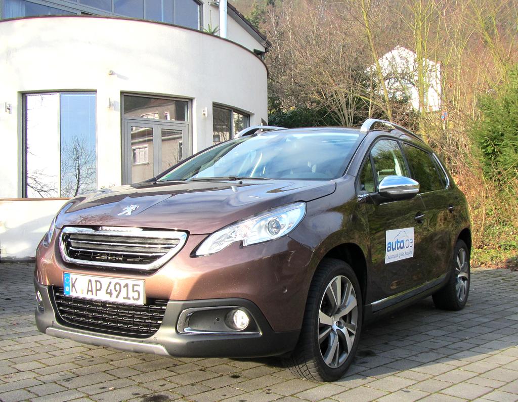 Peugeot 2008, hier als stärkster Diesel mit 84/115 kW/PS.