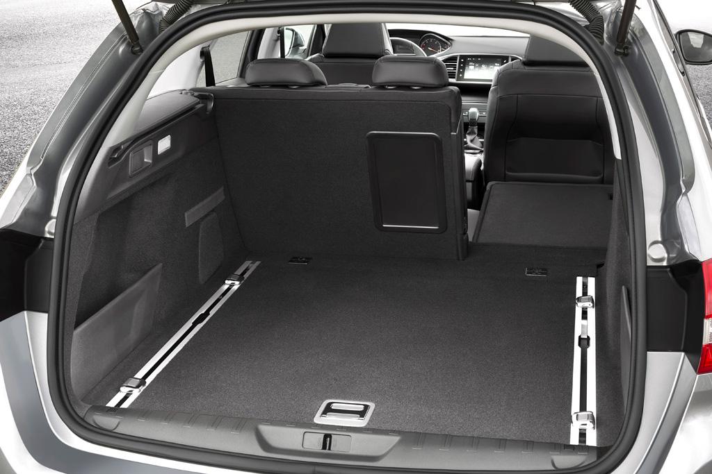 Peugeot 308 SW: Das Gepäckabteil fasst 610 bis 1660 Liter.