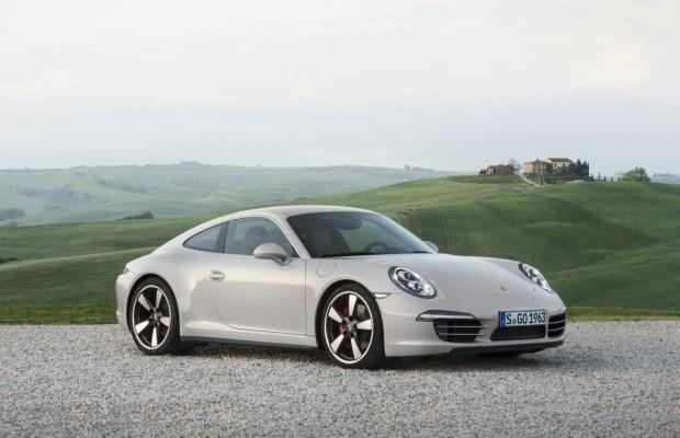 Porsche beim Image auf der Pole Position